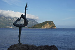 Ballerina Sculpture Stock Images