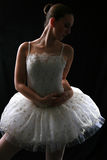 Ballerina In Shadow #3 Royalty Free Stock Images