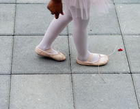 Ballerina shoes Royalty Free Stock Images