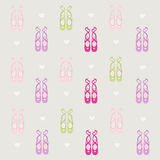 Ballerina shoes background Stock Photography