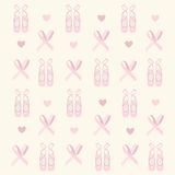 Ballerina shoes background Royalty Free Stock Photography
