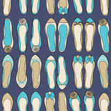 Ballerina Shoes Background Royalty Free Stock Image