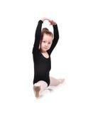 Ballerina sitting on splits Stock Photography