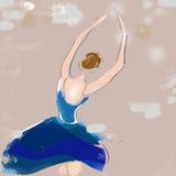 Ballerina Sketch Stock Image