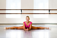 Ballerina Split Stock Photography