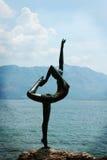 Ballerina statue as a symbol of Budva (Montenegro) Stock Photography