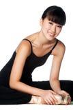 Ballerina Stretching Stock Photo