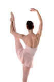 Ballerina Stretching Stock Photo