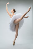 Ballerina in the studio Stock Photo