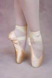 Ballerina sui punti Immagini Stock Libere da Diritti