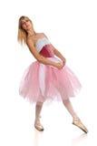 Ballerina-Tanzen Stockbild