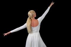 Ballerina-Tanzen Lizenzfreies Stockbild