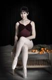 Ballerina teenager della ragazza Immagine Stock Libera da Diritti