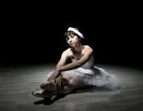 Ballerina teenager della ragazza Fotografia Stock Libera da Diritti