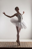 Ballerina tiptoe Royalty Free Stock Photo