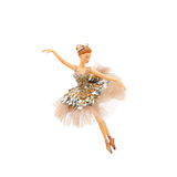 Ballerina toy. Christmas decoration Stock Photography