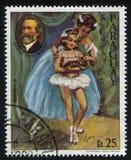 Ballerina und das Porträt von Guseppe Verdi durch Cydney Lizenzfreie Stockfotografie