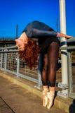 Ballerina urbana Fotografie Stock Libere da Diritti