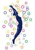 Ballerina (vector) Stock Images