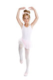 Ballerina weinig balletkinderen het dansen Royalty-vrije Stock Afbeelding