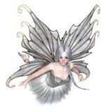 Ballerina-Winter-feenhaftes Fliegen Stock Abbildung