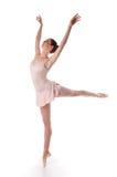 Ballerinaausführung Lizenzfreies Stockbild