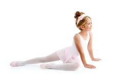 ballerinabalettbarn little Royaltyfria Bilder