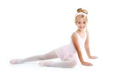 ballerinabalettbarn little Royaltyfri Fotografi