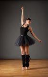 ballerinablackdräkt Royaltyfri Foto