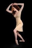 ballerinadans arkivbild