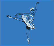 Ballerinadans Royaltyfri Foto