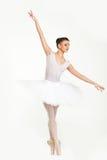 Ballerinadansare i ballerinakjol Arkivbild
