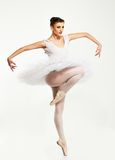 Ballerinadansare i ballerinakjol Royaltyfri Fotografi