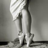 Ballerinafahrwerkbeine Stockbild