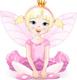 ballerinafe little Royaltyfri Foto