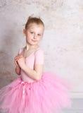 ballerinaflicka Royaltyfri Fotografi