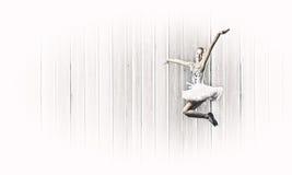Ballerinaflicka Arkivbilder