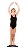 ballerinaflicka little royaltyfri foto