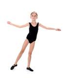 ballerinaflicka little arkivfoto