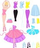 Ballerinaklänningar Arkivfoton