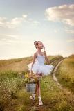 Ballerinamädchen Stockfotografie
