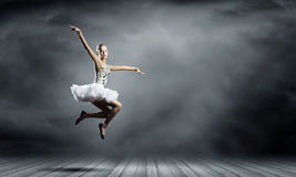 Ballerinamädchen Lizenzfreie Stockfotos