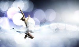 Ballerinameisje Stock Fotografie