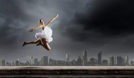 Ballerinameisje Royalty-vrije Stock Afbeelding