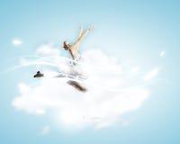 Ballerinameisje Royalty-vrije Stock Foto