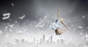 Ballerinameisje Royalty-vrije Stock Afbeeldingen