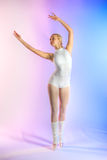ballerinarepetition arkivbilder