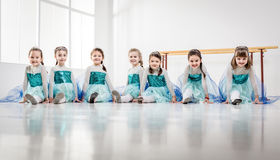 ballerinas λίγα Στοκ Εικόνες