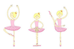 Ballerinas Stock Photography