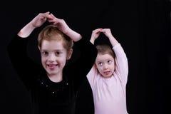 ballerinas royaltyfri fotografi